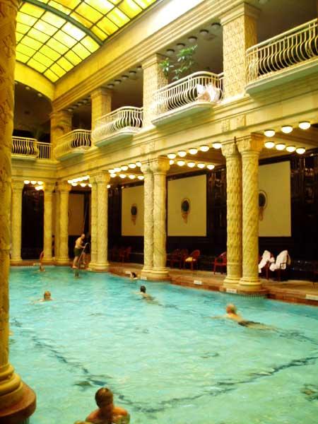 Budapest spa och termalbad