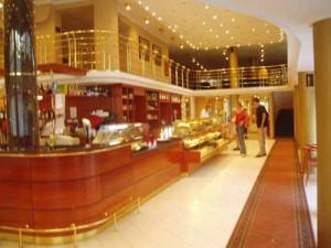 Gammalt cafe i Budapest