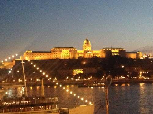Budapest-kvallspromenad